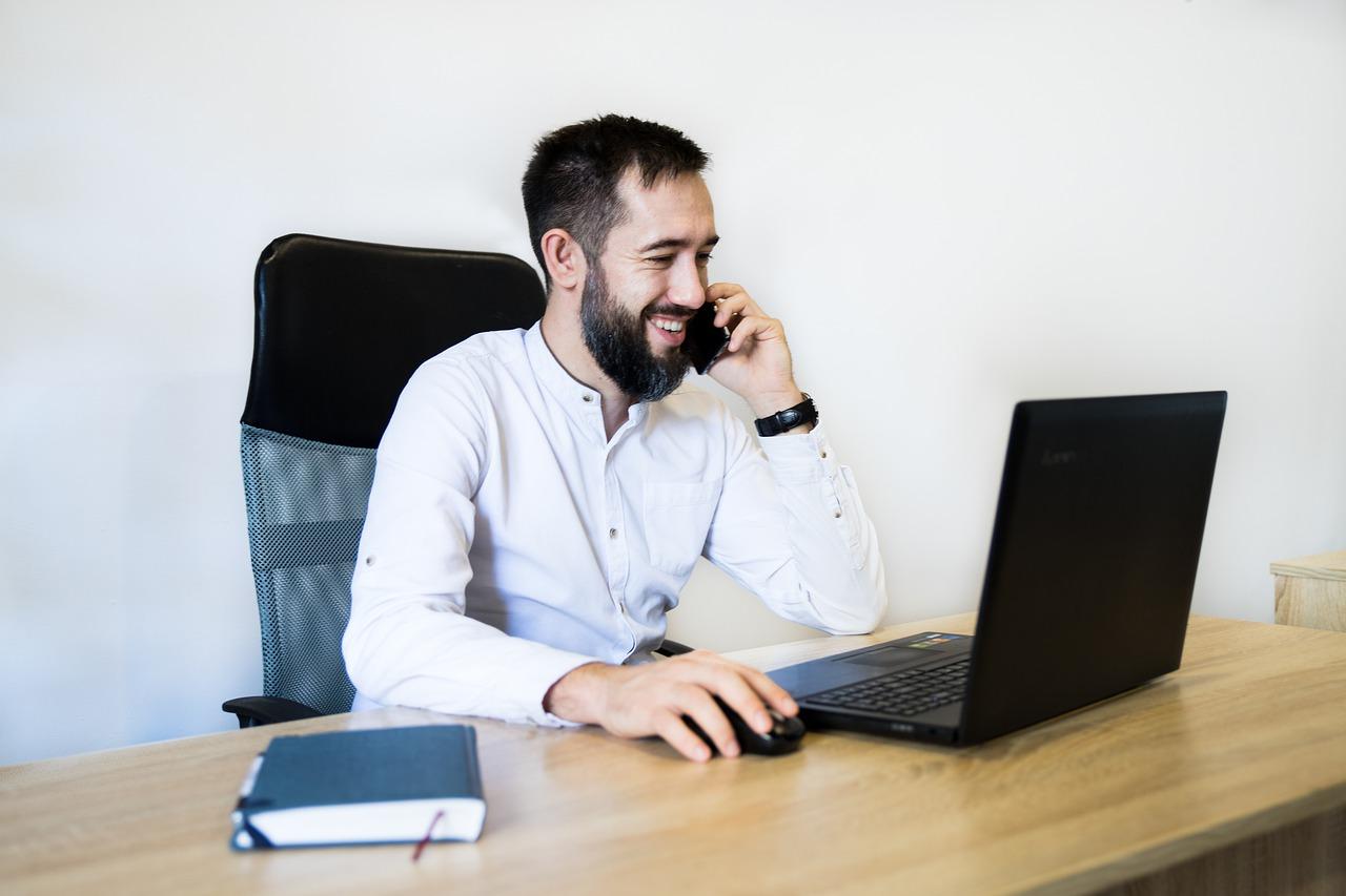 Office Employee Meeting Business